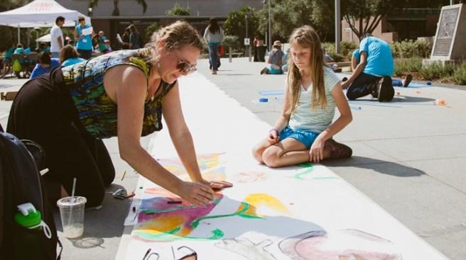 Doodle Away, LA: The Big Draw