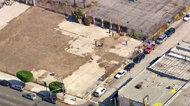 Body Found in South LA Lot