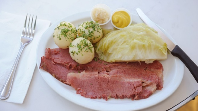 Corned Beef Central: Magee's at Farmers Market