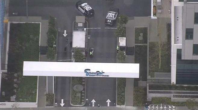 Arrest Made in Report of Gunman at Hollywood Bronson Studios