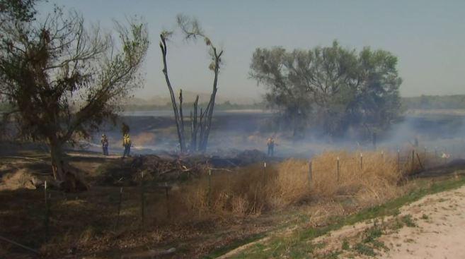 Deputy, Firefighter Injured in Blaze; Man Arrested for Starting Fires