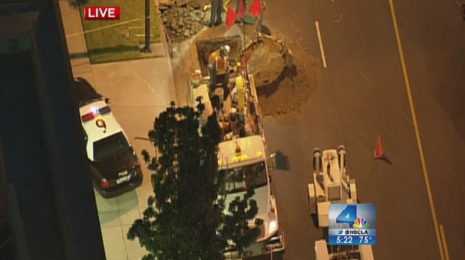 Gas Leak in Burbank Prompts Evacuations, Snarls Traffic