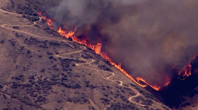 Evacuations Lifted in Yucaipa Fire