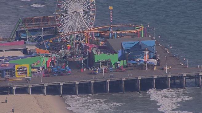 Bomb Threat Investigation Closes Santa Monica Pier