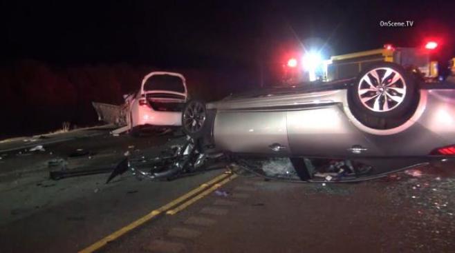 3 Dead After Wrong Way Crash Near Valencia