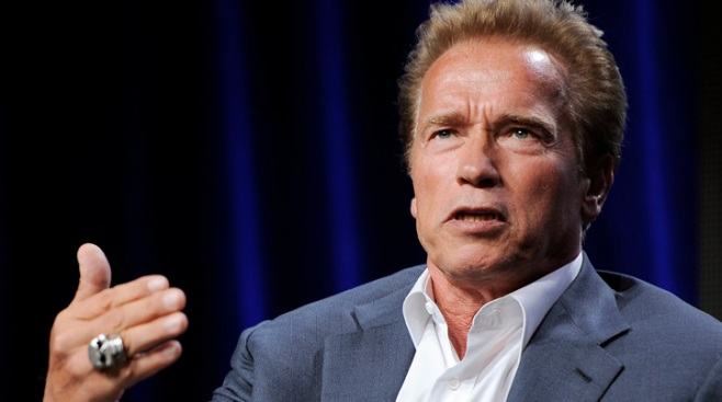 Schwarzenegger Says Sports Zeal Landed Him in Brig