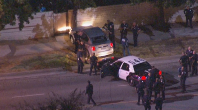 Man Shot, Killed in Van Nuys Opened Fire on Officers During Pursuit: LAPD