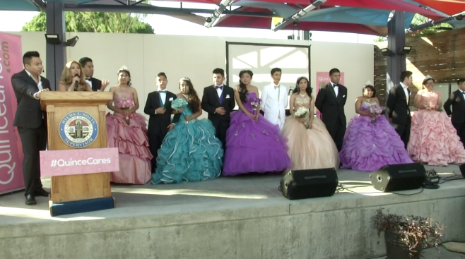 Foster Youth Treated to Once-in-a-Lifetime Quinceañera Celebration