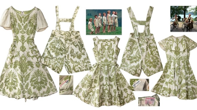 """The Sound of Music"" Curtain Costumes Auction"