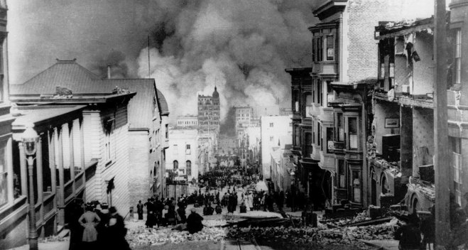 Anniversary of the Deadly 1906 San Francisco Earthquake