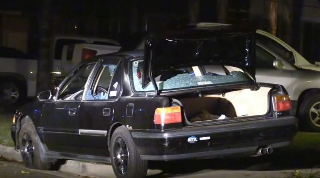 Car Theft Suspect Wounded in Riverside Police Shooting - NBC