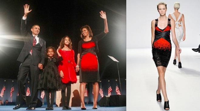 Politics of Fashion: Michelle Obama Chooses Narciso Rodriguez for Election Night