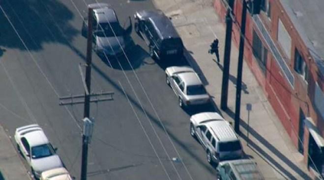 Dangerous Police Chase Ends in DTLA