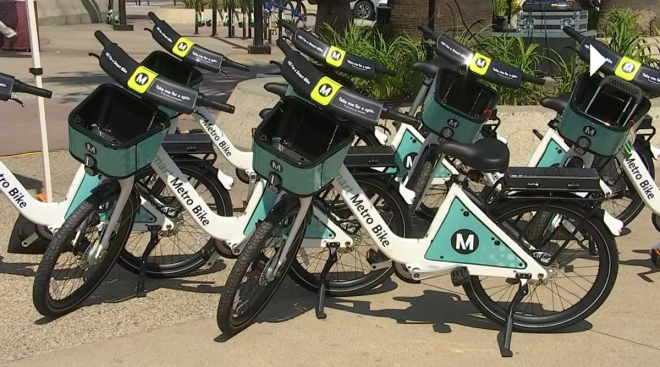 Metro Bike Share Program Opens Several New Stations in North Los Angeles