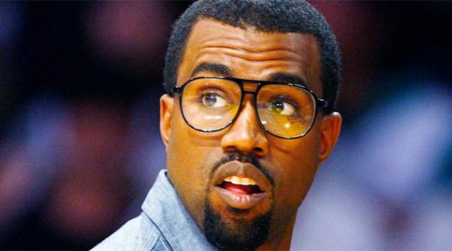 Kanye West Interns at the Gap