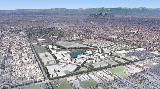 Rams Break Ground On New Inglewood Stadium Set To Open In