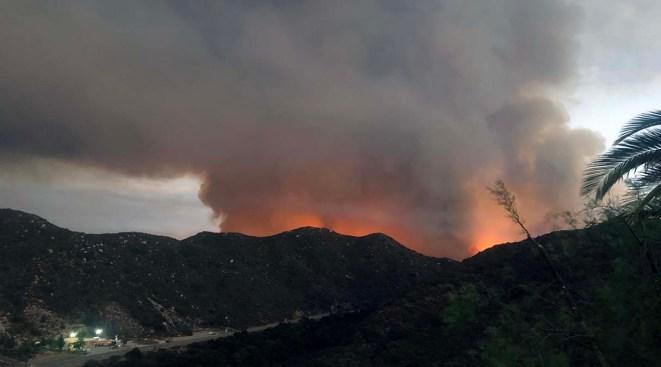 Officials Revise Size of Tenaja Fire Near Murrieta