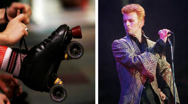 David Bowie Rollerskate Night: Tuneful Tribute