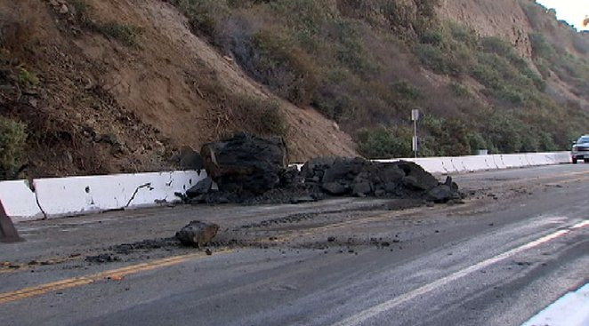 Boulder Blocks PCH in Dana Point