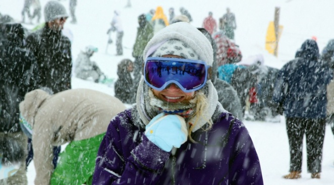 Be in the Snow About Mountain High's Opening Day