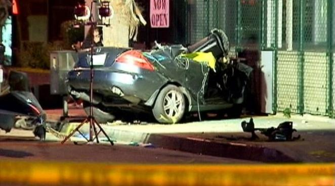 Police: Race Led to Deadly Crash on Wilshire