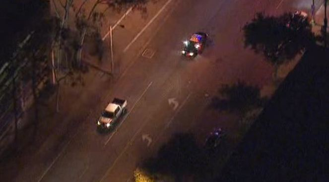 Driver Surrenders After Short Pursuit