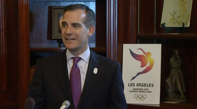 LA Mayor: Trump Victory Could Turn Off IOC Voters to '24 Olympics Bid