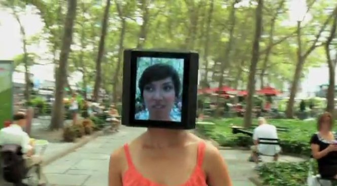 "The Making of the ""iPad Head Girl"""
