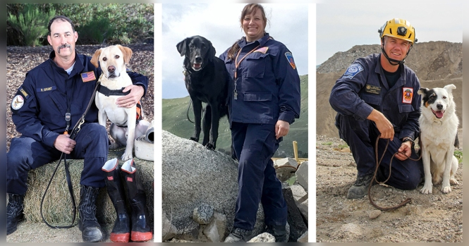 Photos: Trained in California, These Dogs and Their Handlers Are Ready When Disaster Strikes