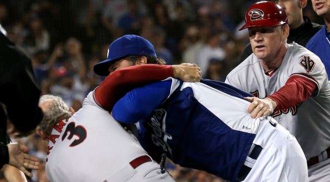 Eight Suspended for Diamondbacks-Dodgers Brawl