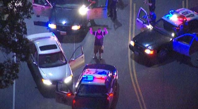 High-Speed Police Chase Ends in North Hills
