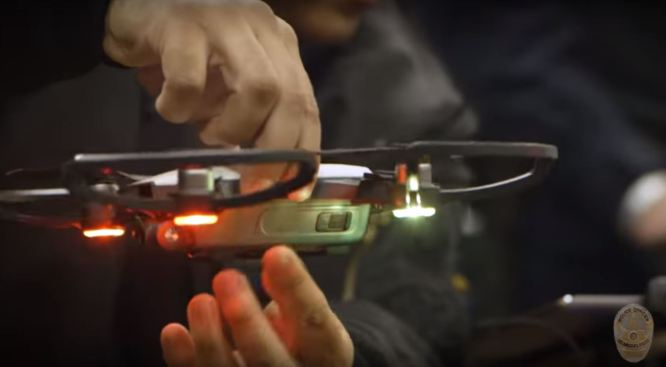 Los Angeles Police Department Deploys Drone for First Time