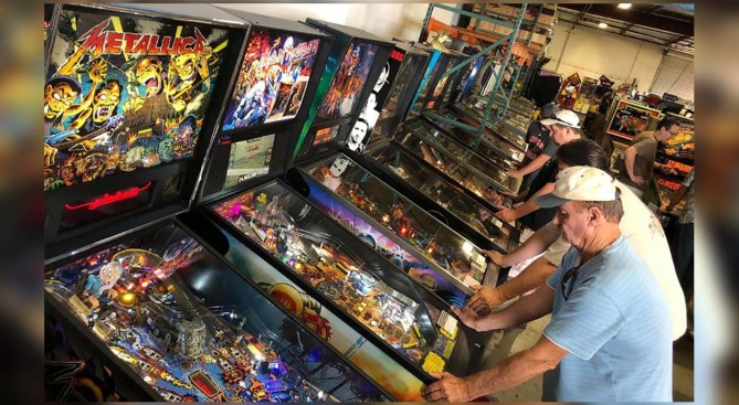 Cue the Nostalgia, a Weekend of Reliving Old Pinball Machines and Arcade Games is Ahead