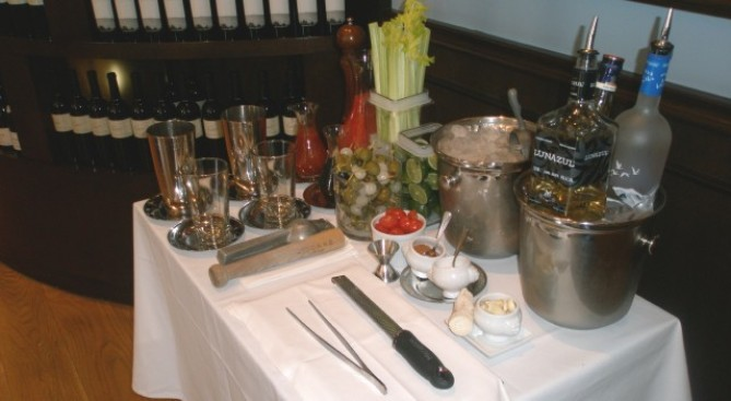 Tableside Drinkery: Bloody Mary Cart at Morels
