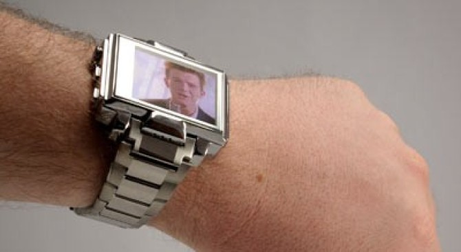 Video Player Watch
