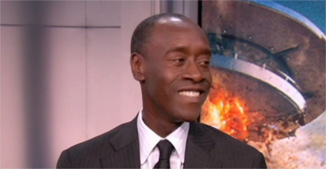 "[NY] Don Cheadle on ""Iron Man 3"""