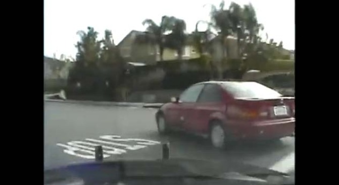 Caught on Video: High-Speed Chase Through IE Ends in Dramatic Crash