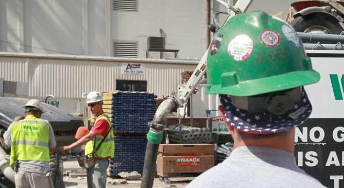 Veterans Turn in Helmets for Hardhats