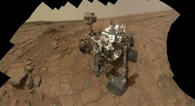 Curiosity Rover Celebrates a Successful First Year on Mars