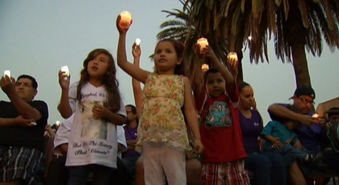 """We Must Always Remember"": San Bernardino Honor Victims of Violent Crimes, Demand Safer Streets"