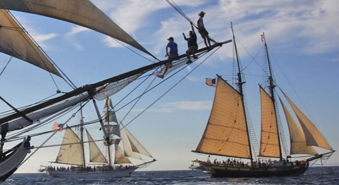 Weekend: Tall Ships Arrive at Dana Point