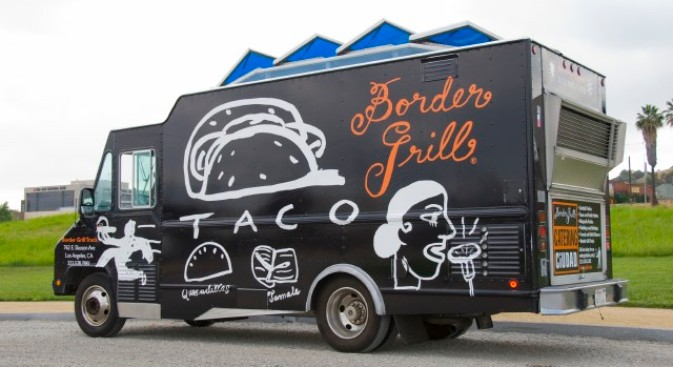 Border Grill Truck, Truck Some Tacos Over Our Way