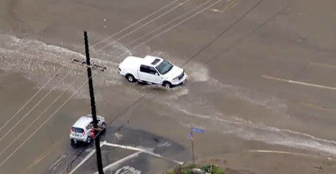 Severe Spring Storm Hits SoCal
