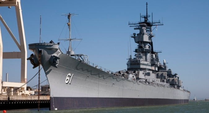 Veteran Appreciation Weekend Aboard the U.S.S. Iowa