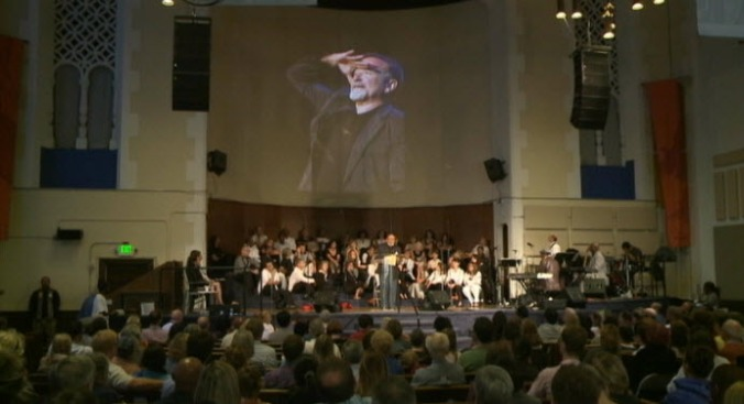 San Francisco's Glide Memorial Church Honors Robin Williams