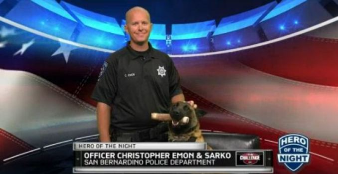 """The Challenge"" Hero of the Night: Officer Christopher Emon"