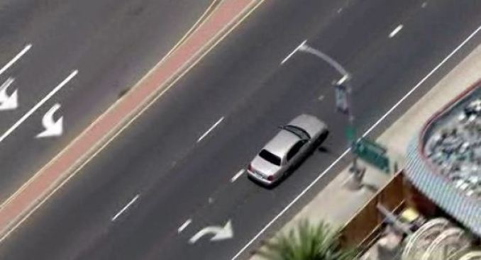 Police Pursuit in Costa Mesa