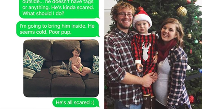 Oregon Mom Pranks Husband Making Him Think She Adopted Coyote