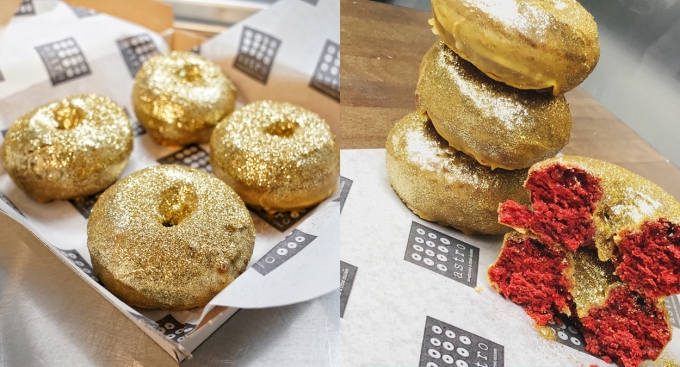 Astro Doughnuts Unveils 'Red Carpet Doughnut' Just Ahead of Oscars Nominations