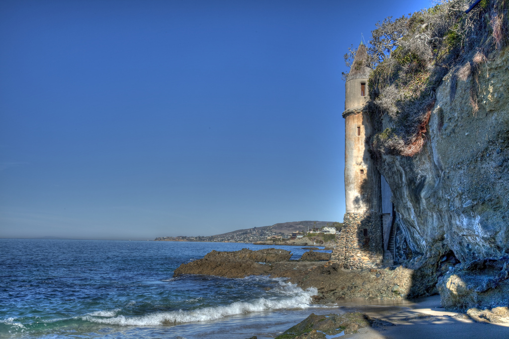 The Laguna Beach tower, known by locals as